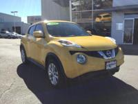 CARFAX One-Owner. Certified. Solar Yellow 2015 Nissan