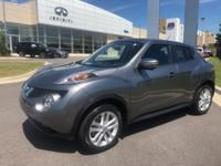 2015 Nissan Juke SL Gun Metallic on Black Leather