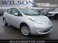 CARFAX One-Owner. Clean CARFAX. Silver 2015 Nissan Leaf