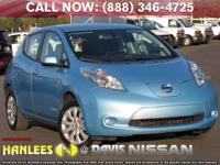 Options:  2015 Nissan Leaf S|Blue|Check Out This 2015