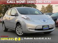 Options:  2015 Nissan Leaf S|Silver|Quick Charger !!!