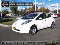 CAR FAX ONE OWNER SUPER CLEAN ALL ELECTRIC LEAF !!!!.