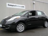 Leaf S w/Quick Charge. 0% APR FINANCING FOR 60 MONTHS.
