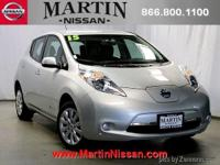 Carfax 1 owner with a quick charge!!! Martin Nissan has
