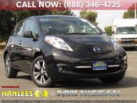 Options:  2015 Nissan Leaf Sl|Black|You Can Thank The