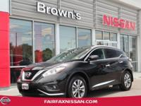 2015 MURANO SL ** ONE OWNER ** CLEAN CARFAX **