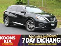 2015 Nissan Murano Platinum Magnetic Black Metallic