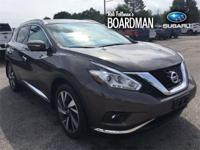 Java Metallic 2015 Nissan Murano Platinum AWD CVT with