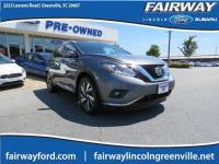 CVT with Xtronic, AWD. CARFAX One-Owner. 2015 Nissan
