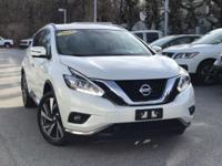 2015 Nissan Murano Platinum Pearl White Rear Back Up