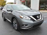 Options:  2015 Nissan Murano Platinum|Platinum 4Dr