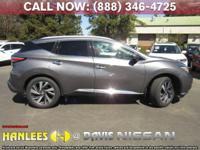 Options:  2015 Nissan Murano Platinum|Gray|Come See