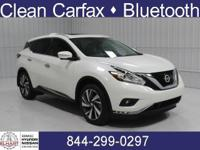 Options:  2015 Nissan Murano Platinum|Pearl
