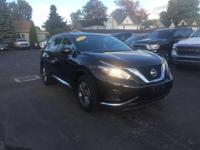 This 2015 Nissan Murano in Black features: 3.5L V6 DOHC