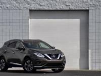 2015 Nissan Murano SL. CVT with Xtronic, AWD, ABS