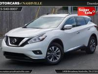 This 2015 Nissan Murano 4dr AWD 4dr SV features a 3.5L