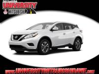 **HAGGLE FREE PRICING** Pearl White 2015 Nissan Murano