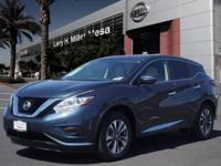 This 2015 Nissan Murano S features a push button start,