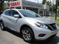 CARFAX One-Owner. Brilliant Silver Metallic 2015 Nissan