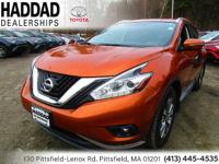 Nissan Murano Pacific Sunset Metallic SL 2015 CARFAX
