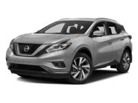 2015 Nissan Murano SL CARFAX One-Owner. NAVIGATION GPS