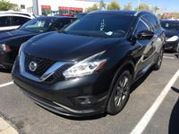 Treat yourself to this 2015 Nissan Murano SL, which