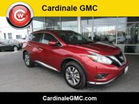 CARFAX One-Owner. Cayenne Red Metallic 2015 Nissan