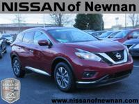 Murano SL, CVT with Xtronic, and Red. Happy Birthday