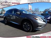 Here we have a Certified Used 2015 Nissan Murano SV