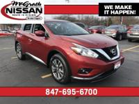 2015 Nissan Murano SV Cayenne Red Metallic 3.5L V6 DOHC
