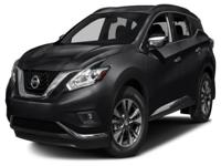 Options:  2015 Nissan Murano Sv| Boasts 28 Highway Mpg