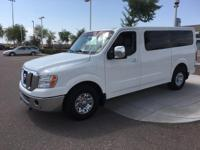 Treat yourself to this 2015 Nissan NV Passenger 3500 HD