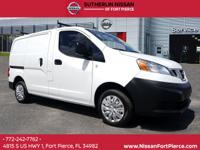 CARFAX One-Owner. White 2015 Nissan NV200 S FWD CVT