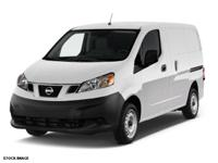 CARFAX One-Owner. White 2015 Nissan NV200 SV FWD CVT