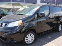 Super Black 2015 Nissan NV200 SV FWD CVT with Xtronic