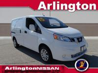 Options:  2015 Nissan Nv200 Sv|White|Carfax One-Owner.