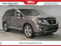 CARFAX One-Owner! 2015 Nissan Pathfinder Platinum in
