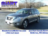 This 2015 Nissan Pathfinder Platinum is offered to you