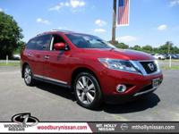 CARFAX One-Owner. Certified. Cayenne Red 2015 Nissan