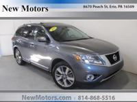 Check out this gently-used 2015 Nissan Pathfinder we