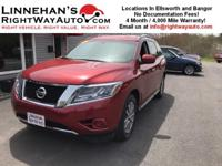 2015 Nissan Pathfinder is a great mid-size SUV with a