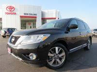 This 2015 Nissan Pathfinder comes equipped with third
