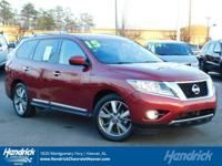 Options:  2015 Nissan Pathfinder Platinum|Cayenne