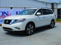 This 2015 Nissan Pathfinder Platinum is proudly offered