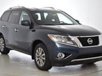 CARFAX One-Owner. This 2015 Nissan Pathfinder SV in