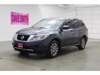This 2015 Nissan Pathfinder has dependability you can