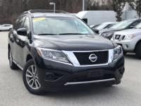 2015 Nissan Pathfinder S Magnetic Black Odometer is