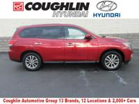 CARFAX One-Owner. ***This 2015 Nissan Pathfinder S is a