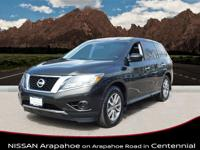 This 2015 Nissan Pathfinder S is offered to you for