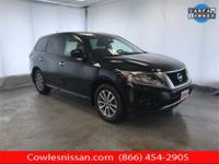 CARFAX One-Owner. Clean CARFAX. Black 2015 Nissan